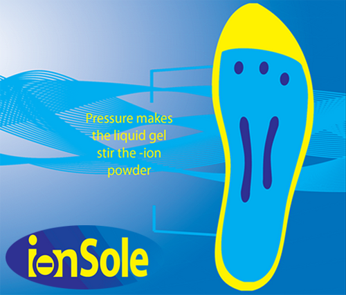 The IonSole Shock-Absorbing Insoles